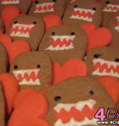 Domo Valentine Cookies by Diamonds For Dessert