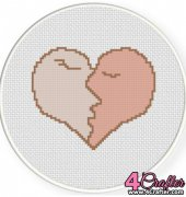 Kiss of Love - Daily Cross Stitch