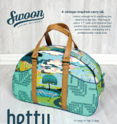 Betty Bowler Bag - Swoon Sewing Patterns