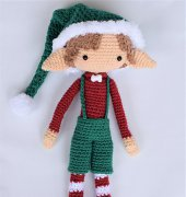 Jingle the elf- Rachel Randle - Sleepy sheep patterns