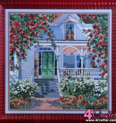 Red Rose Cottage - 41178 - Erin Dertner - Bucilla