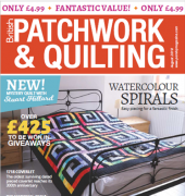 British Patchwork and Quilting - Issue 295 - August 2018 - Traplet