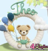 Theo Wreath - Jessely Tainara - Lovely Craft - Portuguese