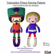 Nutcracker Prince Sewing Pattern - Sarah Hanson - Dolls And Daydreams