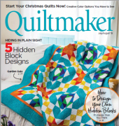 Quiltmaker - Issue 182 - Jul-Aug 2018 - Creative Crafts Group