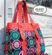 Evelyn Handbag and Market Tote - Swoon Sewing Patterns