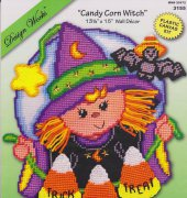 Candy Corn Witch - 3155 - Design Works Crafts