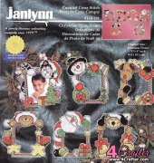 Christmas Photo Frames Ornaments - 140-191 - Janlynn