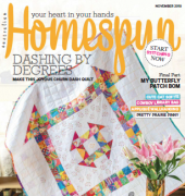 Australian Homespun - Issue 186 - November 2018 - Universal Media Co