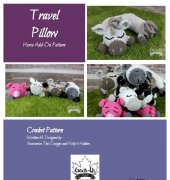 Travel Pillow Horse-Add-On - Croh-Eh Patch