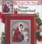 Winter Wonderland - forget - me - nots - 2245 - Angela Pullen - Just Cross Stitch