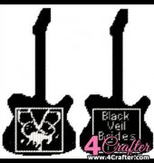Guitar Black Veil Brides - Tricia - PigsnKisses Patterns - Free