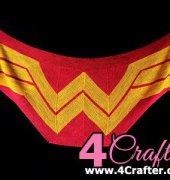 Wonder Woman Wrap - Carissa Browning - Spanish - Free
