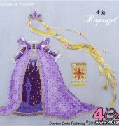 Number 5 - Rapunzel -The Fairy Tale Princess Dress-Up Collection - Brooke Nolan - Brooke's Books Publishing