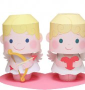 Cupid message doll