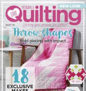 Love Patchwork and Quilting - Issue 60 - 2018 - Immediate Media Co