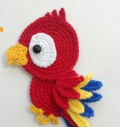 Parrot - Fancy Infancy Crochet