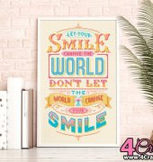 Let Your Smile Change The World - Emma Congdon - Stitchrovia