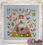 Be You Just You - DM23 - Nathalie Cichon - Jardin Privé - French