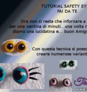 Tutorial Safety Eyes- Fai da te (English)