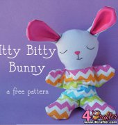 Itty Bitty Bunny - Wendi Gratz - Shiny Happy World - Free