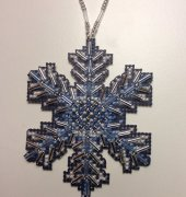 Ice Crystal Ornament - Mill Hill