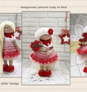 Lady In Red - Yulia Gorbunova - Gorbunova Dolls