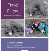 Travel Pillow Mouse Add-On - Croh-Eh Patch