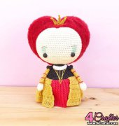 Red Queen - Marcelo Javier - Príncipe del Crochet - Spanish