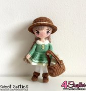 Mori Girl Doll - Jasmin Wang - Sylemn's Sweet Softies
