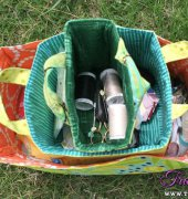 Nested Fabric Buckets Tutorial - Whipstitch - free