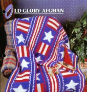 Old Glory Afghan - Ruby Gates - Annie s Crochet Quilt Afghan Club
