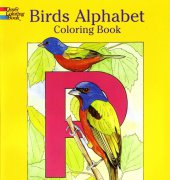 Birds Alphabet Coloring Book - 2005 - Ruth Soffer - Dover publishing