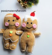 Gingerbread man cookies ragdoll - Passionatecrafter - Free