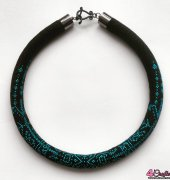 Bead crochet necklace_2
