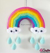 Rainbow Mobile - Jennifer Santos - Super Cute Design