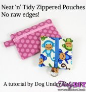 Neat 'n' Tidy Zippered Pouches - Erin Erickson - free