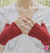 Bridal Falls Gloves - Grace Verhagen - Free