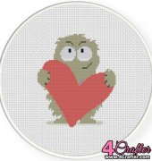Monster Love 5 - Daily Cross Stitch