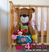 Teddy Bear Organizer - Carolina Guzman - One and Two Company