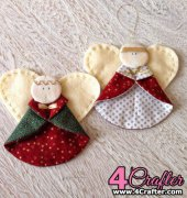 Xmas Ornament Angels - Selimut-ku - free