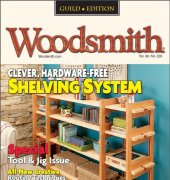 Woodsmith - Guild Edition - Volume 39 Number 229 - February March 2017 - Cruz Bay Publishing Inc - Active Interest Media