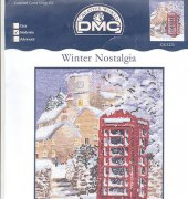 Winter Telephone Box - K3225 - Winter Nostalgia - DMC