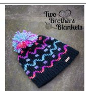 Camden Hat - Michelle Ferguson - Two Brothers Blankets