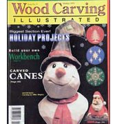 Wood Carving Illustrated - Issue 9 - Holiday 1999 - Fox Chapel Publishing