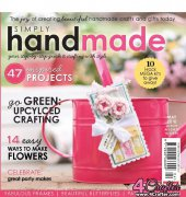 Simply Handmade - Red Line Edition - May 2010 - Future Publishing