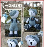 Gaston The Bear - Valérie Brunet - modelstyl